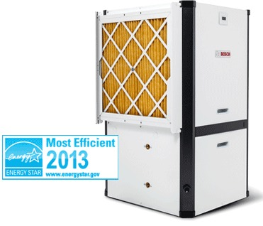 Bosch's Energy Star qualified Greensource CDI geothermal heat pump.