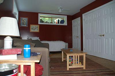 Convert a basement into a separate living quarters for Separate living quarters