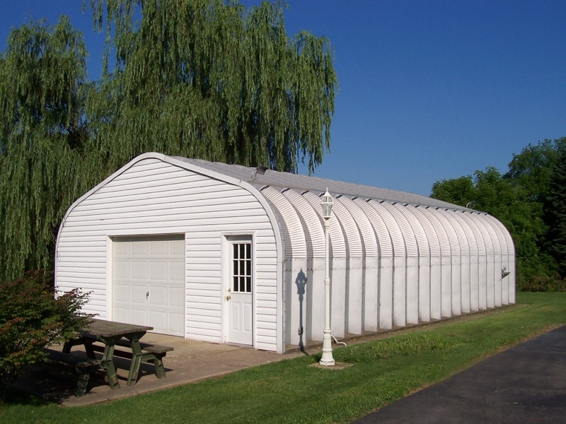 Prefabricated metal garages and metal garage kits an for Prefabricated roofing systems