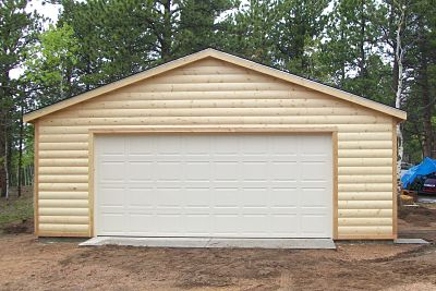 Garage options prefabricated kits or build from scratch for Cost to build a double car garage