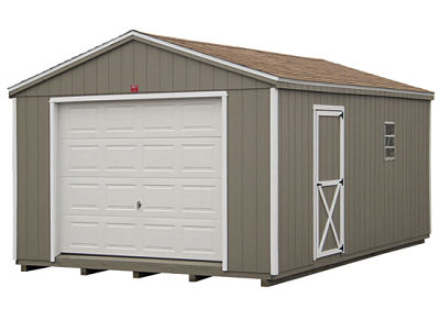 Garage options prefabricated kits or build from scratch Mobile home garage kits