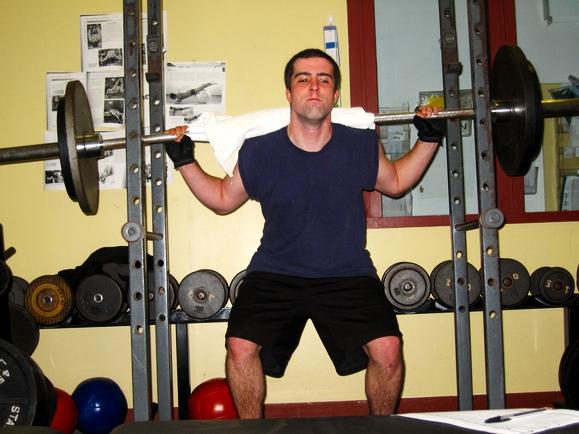 Convert a garage into personal fitness center