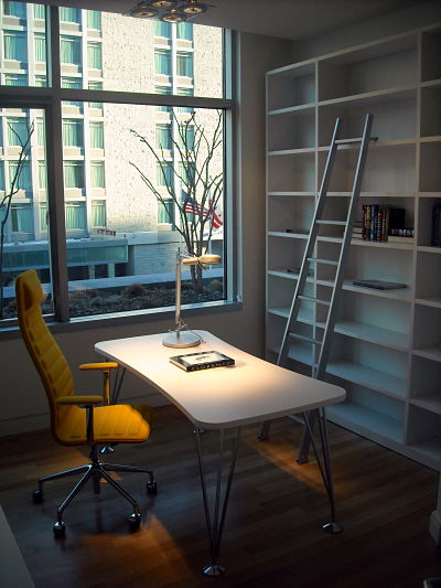Convert a bedroom into an office space for Home office additions