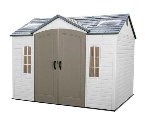 Prefabricated vinyl outdoor storage buildings comparison for Vinyl storage buildings