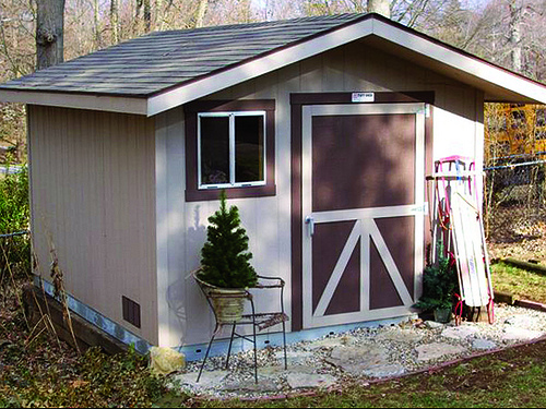 Prefabricated vinyl outdoor storage buildings comparison for Tuff sheds