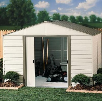 Prefabricated outdoor vinyl storage buildings a survey of for Prefabricated garden buildings