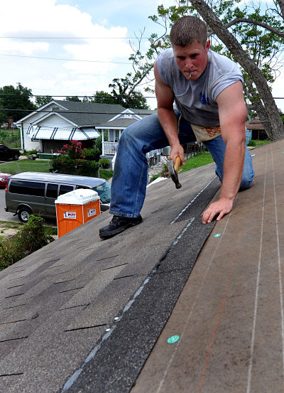 How To Cut Ridge Caps From Asphalt Shingles