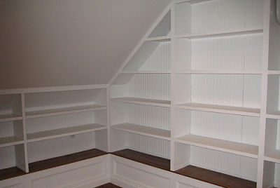 Custom Built Attic Shelving Systems Points To Consider