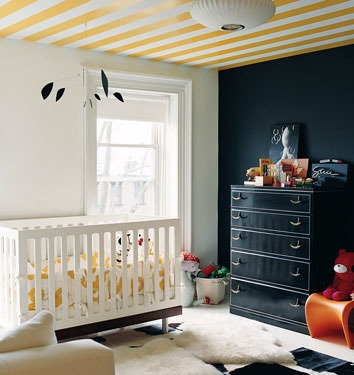 You can still go bold with gender neutral nursery colors  Photo by ooh food  onGender neutral nursery colors  paint ideas. Paint Colors For Gender Neutral Nursery. Home Design Ideas