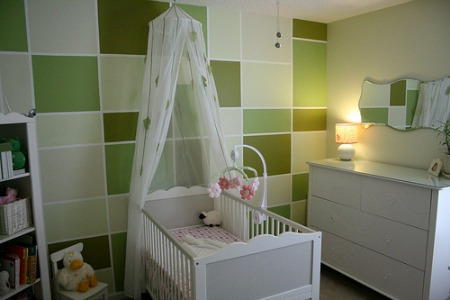 Nursery colors: paint ideas